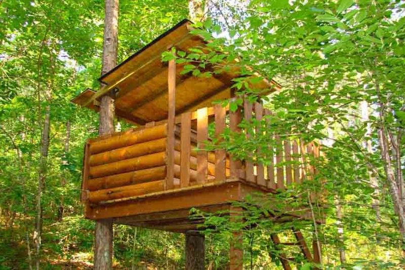 Beavers Bend Lodging Treehouse