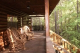 Beavers Bend Lodging Porch