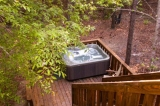 Beavers Bend Lodging Hottub
